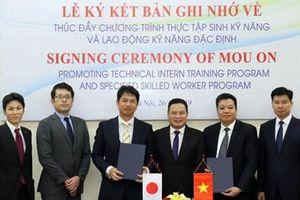 Nhật Bản và Việt Nam gia tăng hợp tác nhân lực