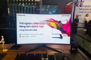 Samsung giới thiệu màn hình LU28R550 độ phân giải UHD giá 15 triệu