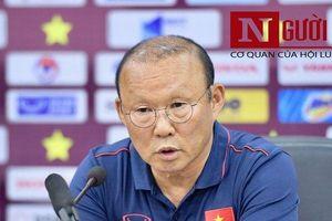 HLV Park tiết lộ về trận gặp Indonesia sau chiến thắng 6-1 trước Lào