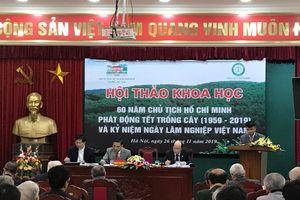 Hà Nội diễn ra nhiều hoạt động kỷ niệm 60 năm ngày Bác Hồ phát động Tết Trồng cây