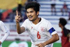 U22 Myanmar dẫn đầu bảng A sau chiến thắng 3-1 trước Timor Leste