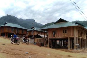 Tái định cư cho 51 hộ dân Thanh Hóa bị ảnh hưởng bởi lũ quét