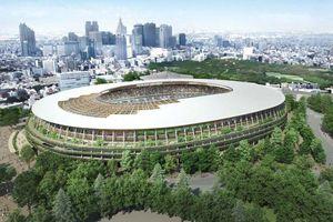 Sân Olympic 1,4 tỷ USD của Nhật trị nóng bằng gỗ từ đất 'sóng thần'