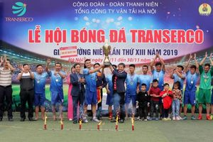 Xí nghiệp xe buýt Hà Nội vô địch giải bóng đá Tổng công ty vận tải Hà Nội năm 2019