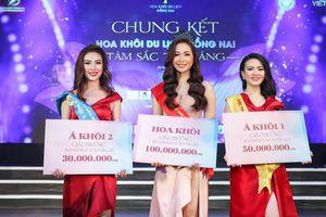 Đỗ Nguyễn Như Huỳnh đăng quang Hoa khôi Du lịch Đồng Nai 2019