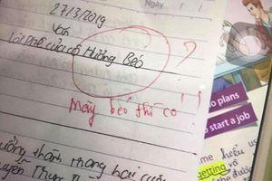 Chê cô giáo béo, học sinh nhận lời phê không thể bá đạo hơn