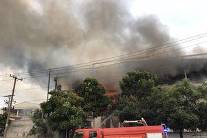 Bình Dương: Cháy nhà máy bánh kẹo trong KCN Sóng Thần 2