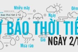 Dự báo thời tiết ngày 2/12: Hà Nội ơi, rét quá!