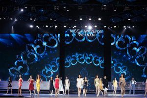 Hậu trường chuẩn bị đêm bán kết Hoa hậu Hoàn vũ Việt Nam 2019