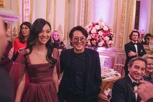 Lý Liên Kiệt cùng con gái 'bom sex' dự tiệc thượng lưu