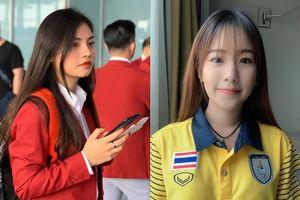 Nhan sắc 2 nhân viên y tế của Việt Nam và Thái Lan tại SEA Games