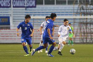 Vất vả vượt qua U22 Lào, U22 Thái Lan tiếp tục bám đuổi U22 Việt Nam