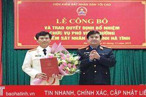 Hà Tĩnh có tân Phó Viện trưởng Viện kiểm sát nhân dân tỉnh