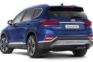 Hyundai Santa Fe 2020 thêm động cơ 3,5 lít V6