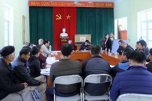 Lãnh đạo tỉnh dự sinh hoạt Chi bộ thôn Tùng Cầu, xã Vô Ngại (Bình Liêu)