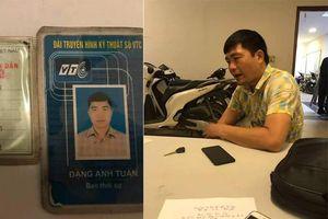 Làm giả thẻ phóng viên Đài VTC để xin xỏ CSGT bỏ qua vi phạm