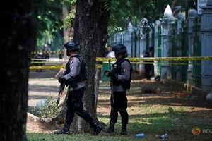 Nổ lớn gần Phủ Tổng thống Indonesia, 2 binh sĩ bị thương