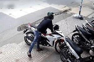 Công an quận Thanh Xuân tìm bị hại trong các vụ trộm cắp xe máy