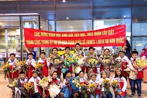 Học sinh Cầu Giấy giành 15 huy chương và 3 giải khuyến khích tại kỳ thi các đội tuyển Toán thế giới