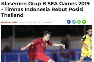 Báo Indonesia hả hê: 'U22 Việt Nam sẽ phải tử chiến với Thái Lan'