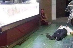Kinh hoàng cảnh tên cướp hạ gục vợ chồng chủ tiệm vàng tại Bình Định