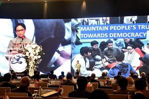 Diễn đàn dân chủ Bali 12 đề cao vai trò lãnh đạo của phụ nữ và thanh niên