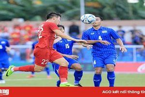 Hòa 2-2 với U.22 Thái Lan, U.22 Việt Nam vào bán kết gặp Campuchia