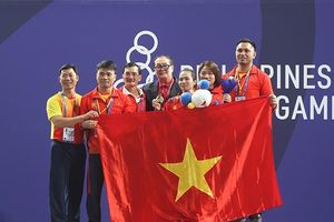 Kỳ SEA Games vàng của cử tạ Việt Nam
