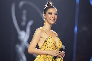 MC Hoàng Oanh nhắn nhủ tân Hoa hậu Hoàn vũ Việt Nam Khánh Vân