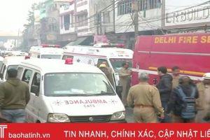 Hỏa hoạn tại nhà máy ở Ấn Độ khiến ít nhất 43 người thiệt mạng