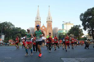 Gần 13.000 vận động viên tham gia Giải Marathon quốc tế TP.HCM