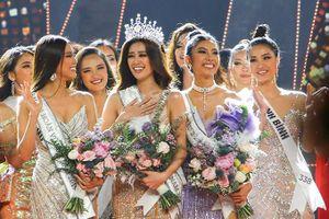 Nguyễn Trần Khánh Vân đăng quang Hoa hậu hoàn vũ Việt Nam
