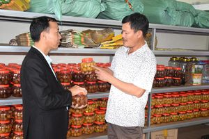 Xây dựng thương hiệu chanh đào ở Quảng Thành