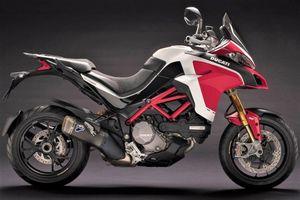 Ducati Multistrada 1260 dính lỗi có nguy cơ gãy chống nghiêng