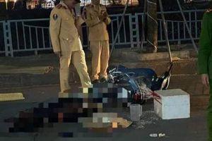 Nam thanh niên Hòa Bình tử vong tại chỗ sau va chạm với xe tải tại Hà Nội