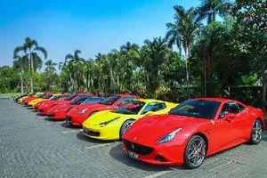 Dàn Ferrari của dân chơi Indonesia khiến đại gia Việt 'phát thèm'