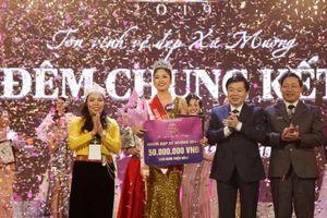 Nữ sinh trường Sân khấu Điện ảnh đăng quang Người đẹp xứ Mường 2019