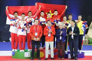 Đoàn Việt Nam bắt kịp Thái Lan về số Huy chương Vàng