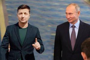 Tổng thống Putin gặp Tổng thống Ukraine lần đầu tiên