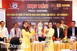 U.20 Việt Nam tham dự Giải bóng đá quốc tế BTV lần 20 - Cúp Number 1