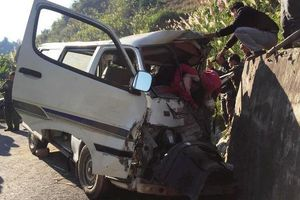2 người tử vong trong vụ xe đoàn từ thiện bị nạn