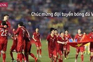 Agribank tặng 2 tỷ đồng cho 2 đội tuyển bóng đá nam và nữ Việt Nam vô địch SEA Games 30