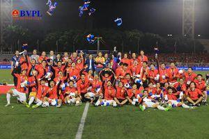 Việt Nam vượt người Thái chiếm ngôi nhì ở Sea Games 30