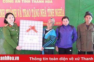Bàn giao nhà tình nghĩa cho gia đình thân nhân liệt sỹ Thao Văn Súa