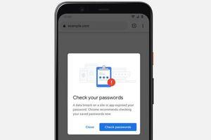 Chrome tự động thông báo nếu mật khẩu của bạn không an toàn
