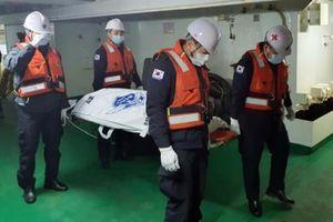 Tìm thấy thi thể 2 người Việt trong vụ cháy tàu Hàn Quốc