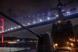 Thổ dọa đóng cả eo biển Bosphorus với tàu chiến Mỹ