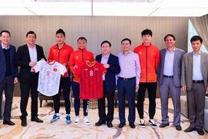 Viettel khen thưởng các cầu thủ đội tuyển U22 Việt Nam