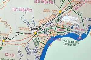Nhiều tuyến đường mới kết nối với cao tốc Phan Thiết- Dầu Giây