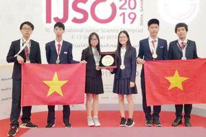 Việt Nam đạt thành tích xuất sắc tại Kỳ thi Olympic Khoa học trẻ quốc tế IJSO 2019